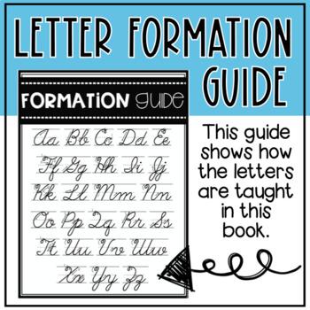 Cursive Handwriting Practice Unit