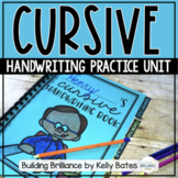 Cursive Handwriting Practice Unit