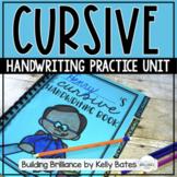 Cursive Handwriting Practice Unit Distance Learning