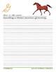 Cursive Printables: Horses
