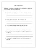 Cursive Quiz + Rubric