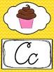 Cursive Rainbow Alphabet Posters. Preschool-3rd Grade