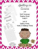 Cursive Spelling : Reading Street : Grade 4 : Unit 4