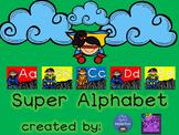Cursive Superhero Alphabet