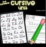Cursive Practice Worksheets ⭐ Handwriting Practice ⭐ Cursive Letters