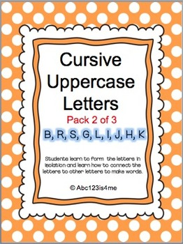 Cursive Uppercase Lessons (2 of 3)