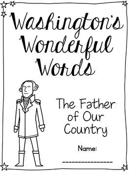 Cursive Washington Quotes