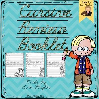 Zaner Bloser Cursive Practice Teaching Resources | Teachers Pay Teachers