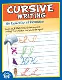 Cursive Writing Activity Book & MP3