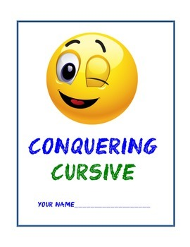 Cursive Writing Book
