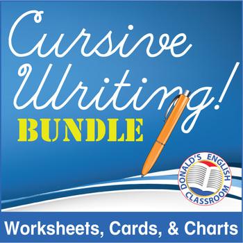 Cursive Writing Bundle