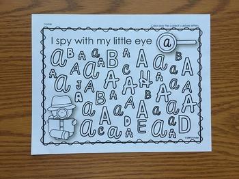 Cursive Writing I Spy