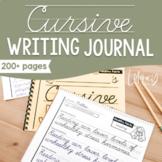 Cursive Writing Journal