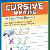 Cursive Writing Printable Book & MP3 Download