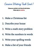 Cursive Writing Task Cards