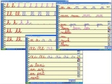 Cursive Writing Video Days 1-13 GRADES 2,3,4