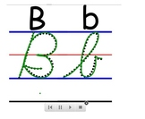 Cursive Writing Video Demonstration (Capital and Lowercase)