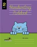Cursive handwriting workbook 2 in english