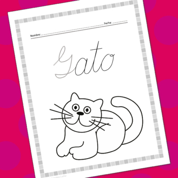 Cursive handwriting workbook 1 in spanish