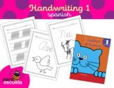 Cursive handwriting workbook 1 in spanish