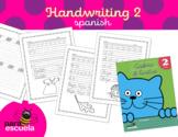 Cursive handwriting workbook 2 in spanish