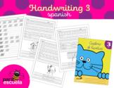 Cursive handwriting workbook 3 in spanish