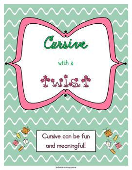 Cursive with a Twist