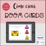 Curso Cómo crear Boom Cards. Distance Learning. Tutoriales