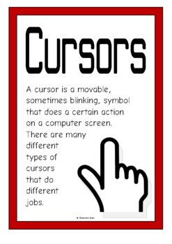 Cursors Posters