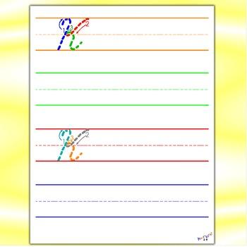 Cursive Letters - Cursive K