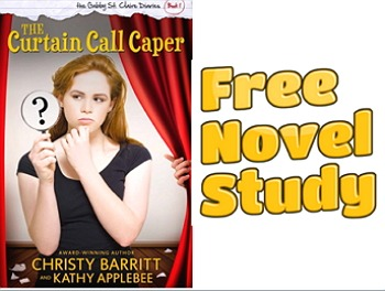 Freebie: Curtain Call Caper novel study pack