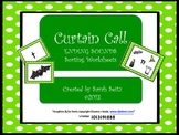 Curtain Call Ending Sounds Worksheets