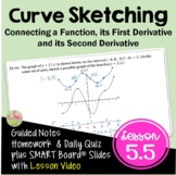Calculus Curve Sketching with Lesson Video (Unit 5)