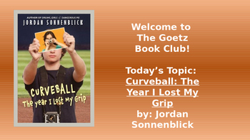Curveball: The Year I Lost my Grip Book Club and Trivia