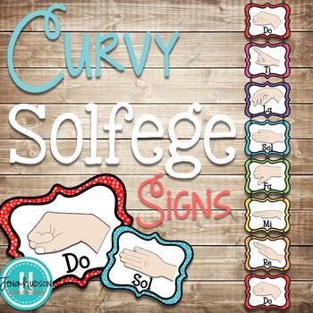 Curvy Solfege Signs