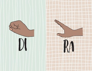 Curwen Hand Sign Posters- Doodle