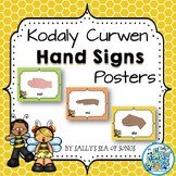 Curwen Hand Signs Posters - Busy Bee Kids