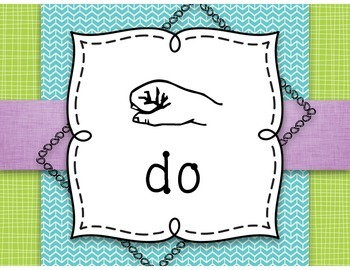 Curwen Hand Signs Posters Set 2 {Kodaly Word Wall}