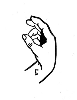 Curwen Hand Signs With Words