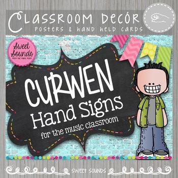 Curwen Kodaly Hand Signs {Brick Chalk}