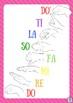 Curwen Kodaly Solfa Handsign Posters