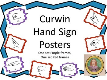 Curwen Hand Sign Posters