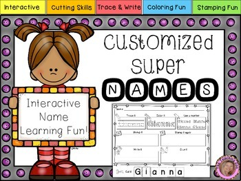 Custmized Interactive Super Names