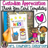 Custodian Appreciation Thank You Cards