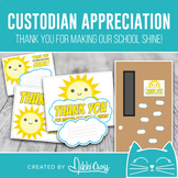 Custodian Appreciation Thank You For Making Our School Shine Gift