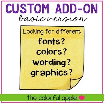 Custom Add-On {Basic}