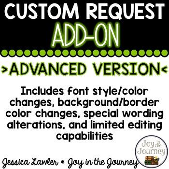 Custom Add-on ADVANCED