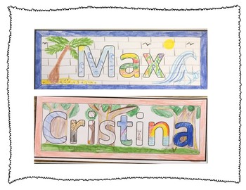 Custom All About Me Name Tags - Fun and Easy!