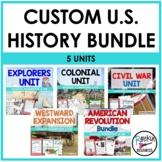 Custom American History Bundle