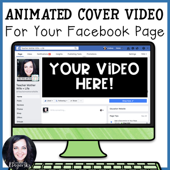 Custom Animated Facebook Cover Video